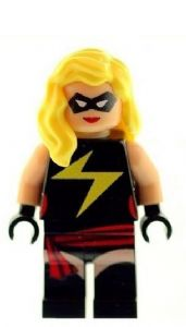 Ms Marvel Version 2 - Custom Designed Minifigure
